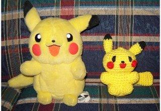 Pikachu from BizzyCrochet