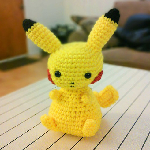 Pikachu from CraftSauce