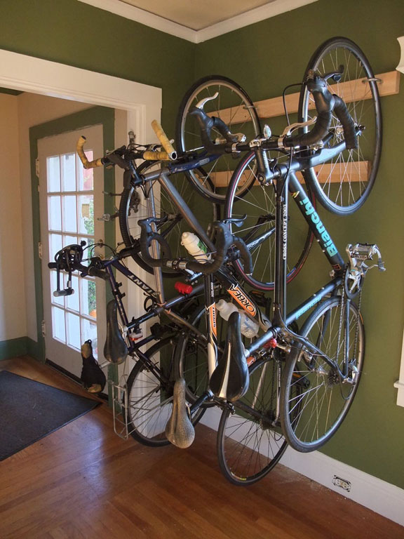 Storage Rack For Many Bikes
