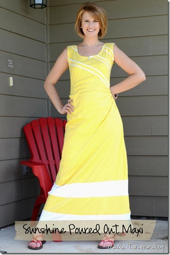 Sunshine Poured Out Maxi