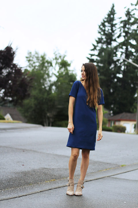 Vintage Inspired Boxy Dress