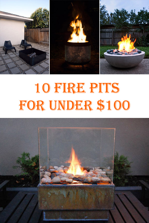 10 Cheap DIY Fire Pits