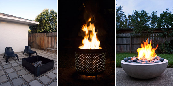 Cheap DIY Fire Pits