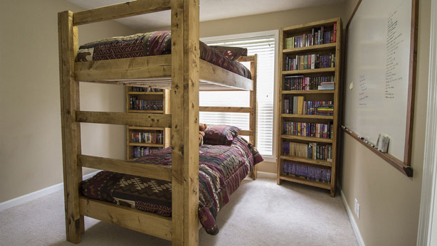 DIY Easy & Strong Bunk Bed