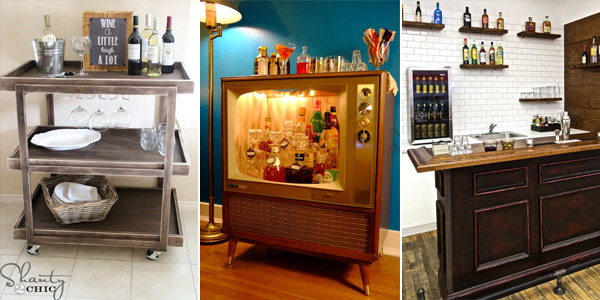 DIY Home Bar Ideas