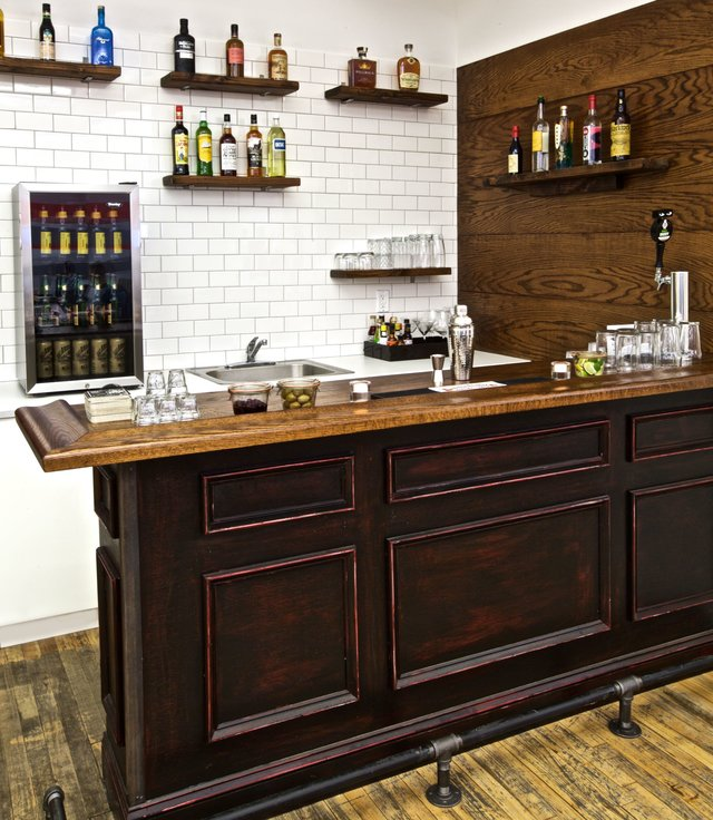 16 DIY Home Bar Ideas - Cool DIYs