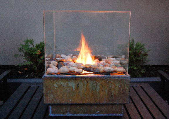 DIY Personal Fire Pit by TheArtOfDoingStuff
