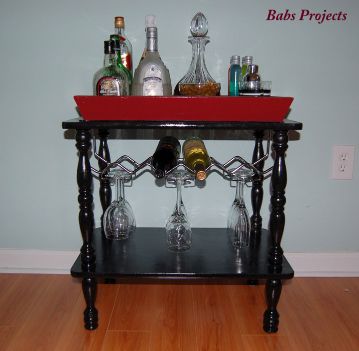 DIY Portable Mini Bar