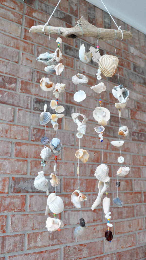 DIY Seashore Wind Chimes