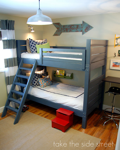 DIY Side Street Bunk Beds