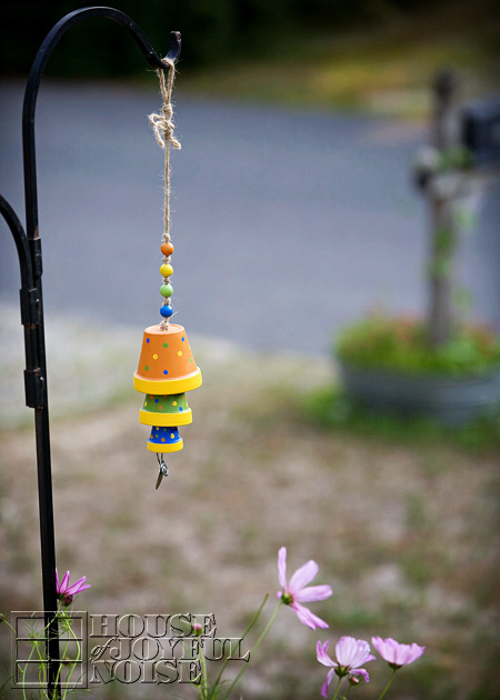 DIY Terracotta Flower Pot Wind Chime