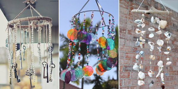 Unique DIY Wind Chimes