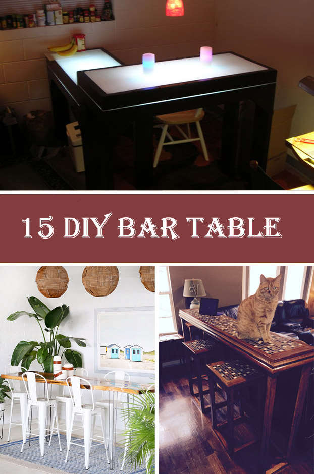 15 DIY Bar Table