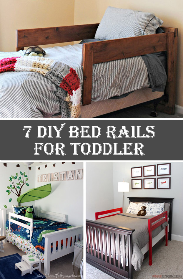 7 DIY Bed Rails for Toddler
