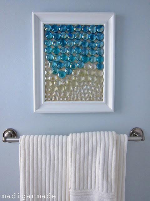 Beachy Glass Gem Wall Art