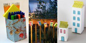 Creative Ideas to Reuse Milk Cartons