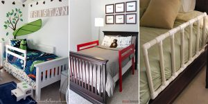 DIY Bed Rails for Toddler