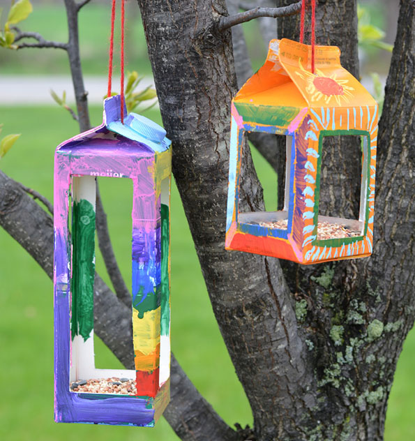 DIY Birdhouse Crafts For Kids