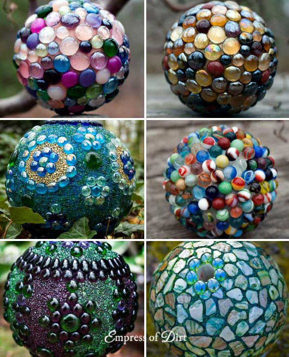 DIY Decorative Garden Ball