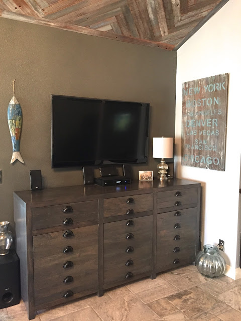 DIY Dresser TV Stand by MakeMePrettyAgain