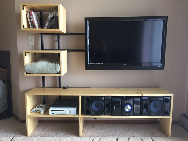 DIY Floating TV Stand by Instructables