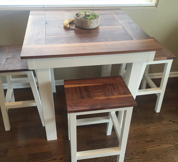 DIY Pub Height Table