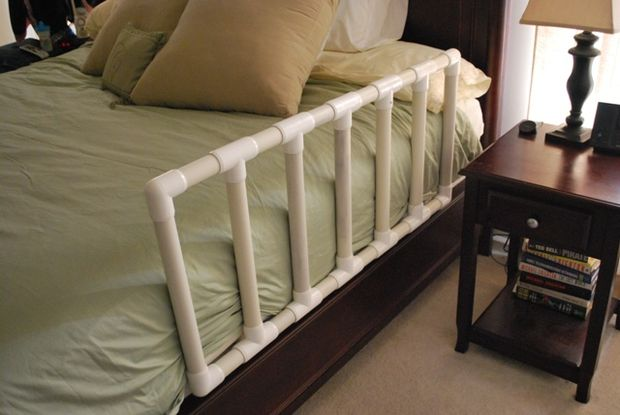 DIY Toddler Bed Guard by Instructables