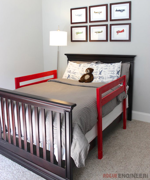 DIY Toddler Bed Rails by RogueEngineer