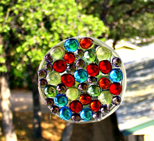 Glass Gem Sun Catchers Kids Can Make