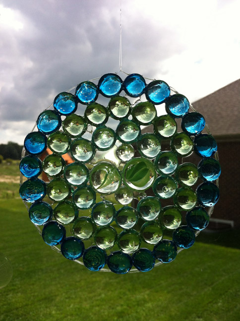 Glass Gem Suncatcher