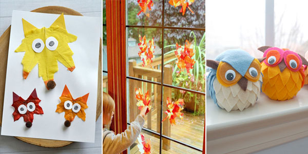 Awesome Fall Crafts For Kids