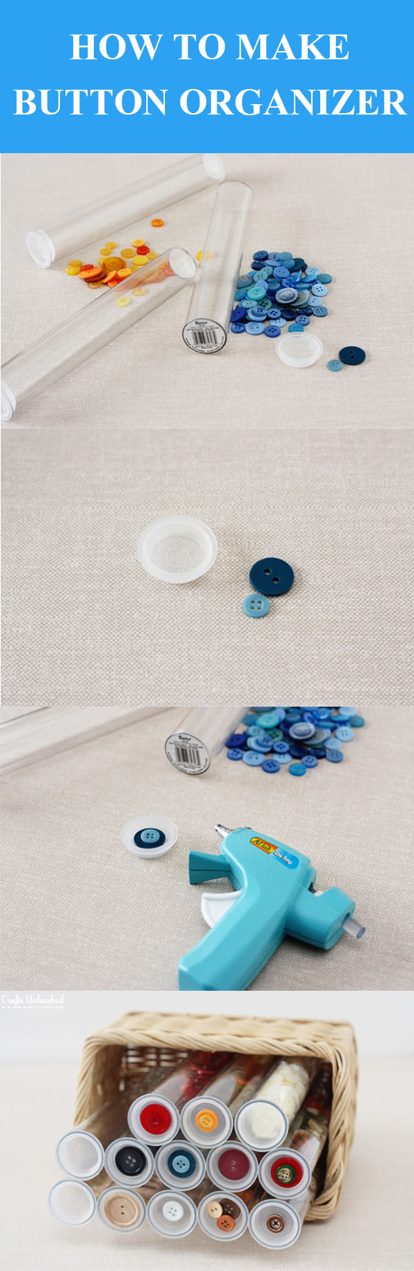 DIY Button Organizer
