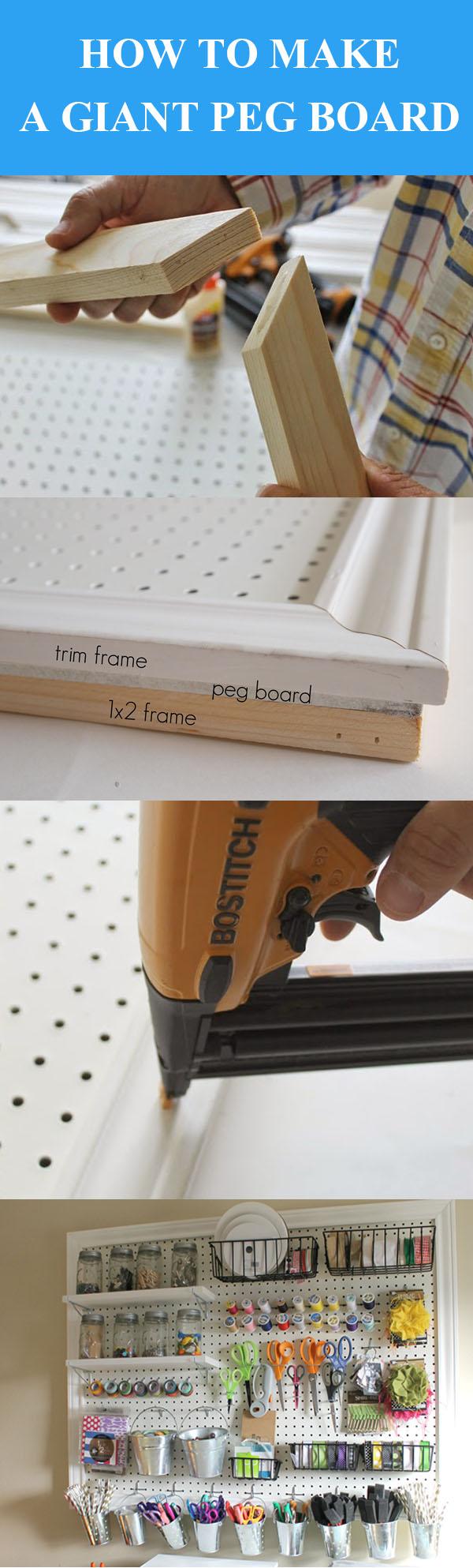 DIY Giant Peg Board