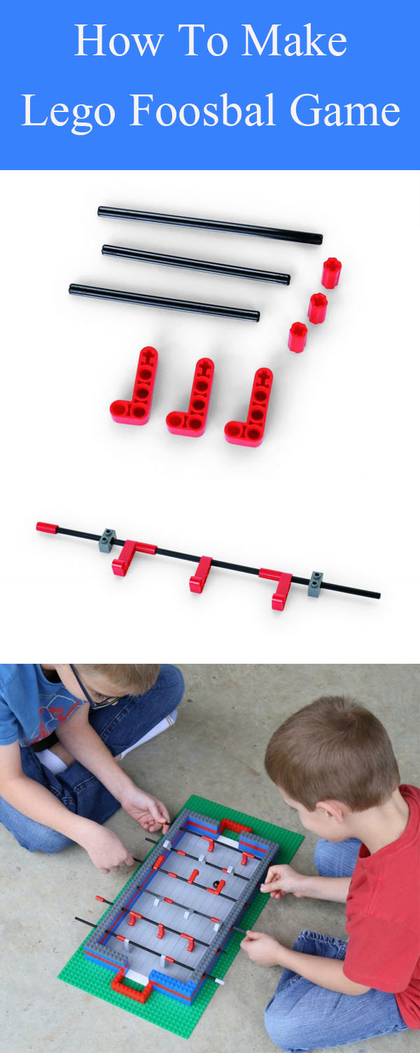 DIY Lego Foosball Game
