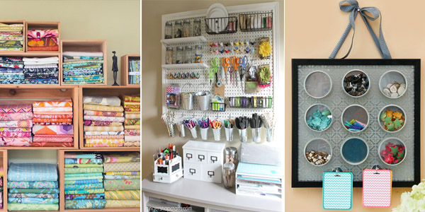 Outstanding DIY Sewing Room Ideas