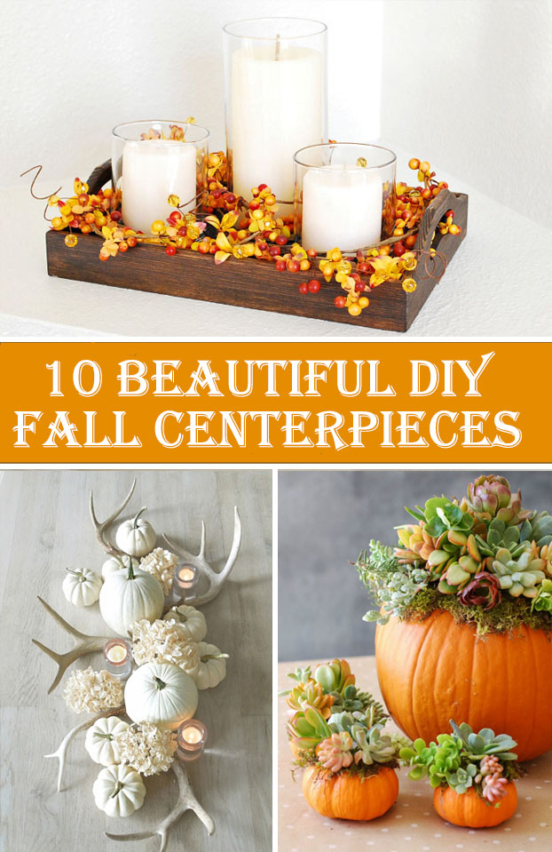 10 Beautiful DIY Fall Centerpieces