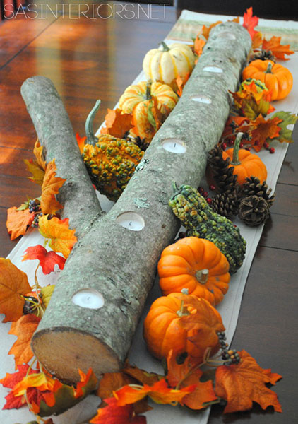 5-Minute Autumn Centerpiece