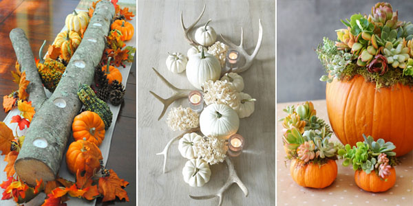 Beautiful DIY Fall Centerpieces