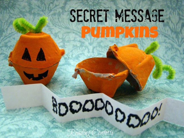 Secret Message Pumpkins