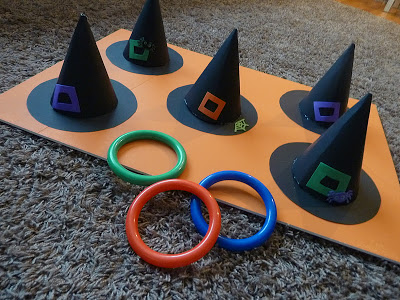 Witch's Hat Ring Toss
