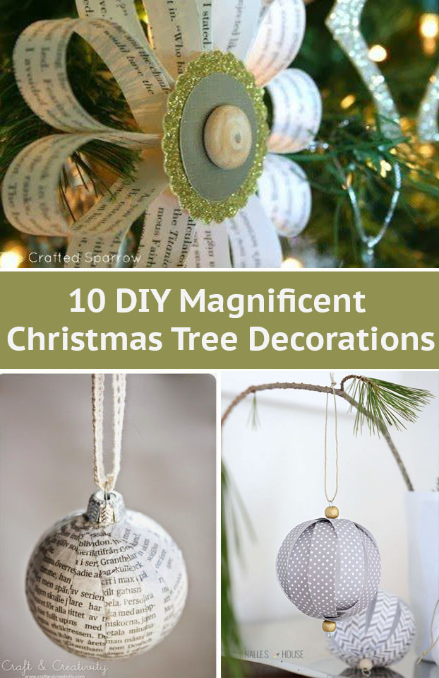 Do you want to decorate a Christmas Tree in a very special way? Why not? Let's play with every day materials to create a unique decorations.